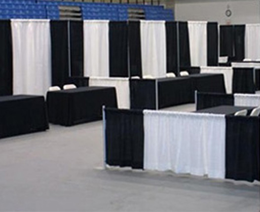 Connecting Booths